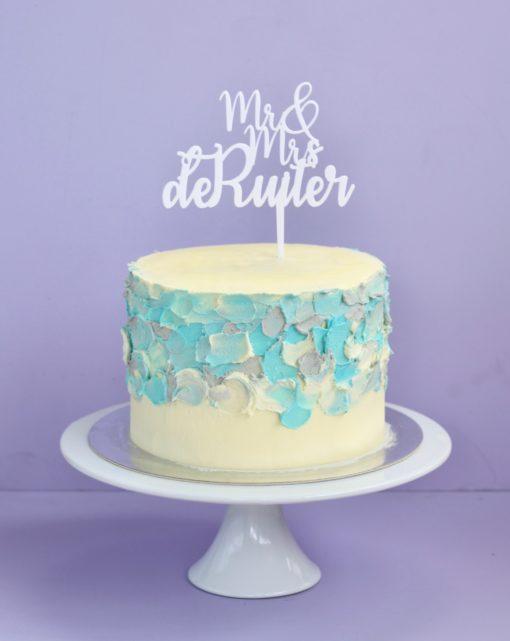 1 of 3 wedding cakes