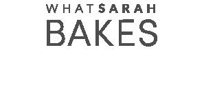 What Sarah Bakes - Cakery