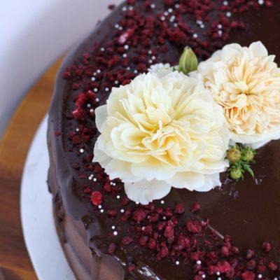 Vegan Drizzle Cake