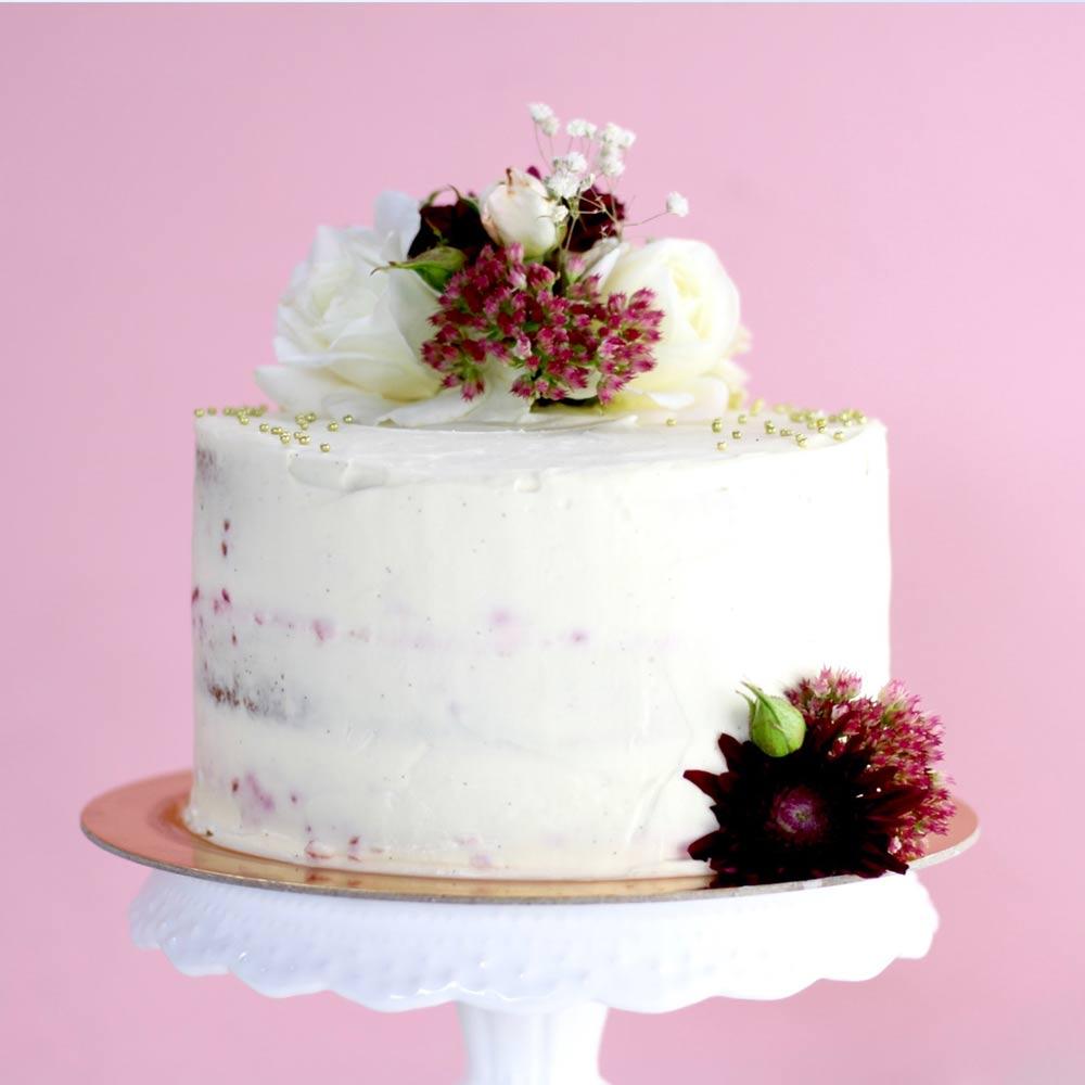 Vegan Semi-Naked Cake
