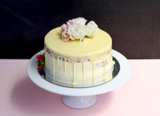 Red Velvet Drizzle Cake
