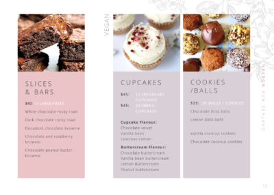 cupcakes and bars
