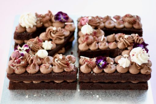 Number 25 Cake