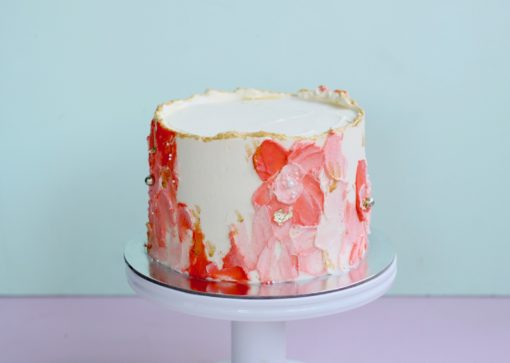 Textured-buttercream-cake