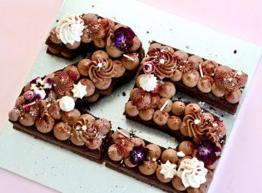 25 number cake