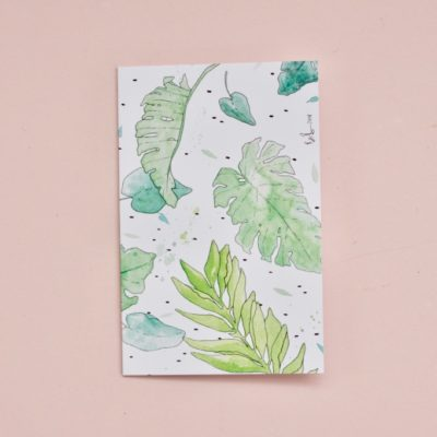 Tropical-leaf-gift-card