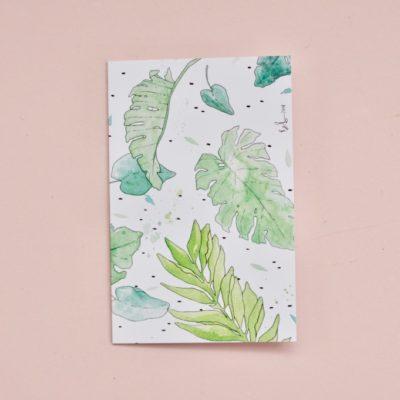 Tropical-leaf-gift-card
