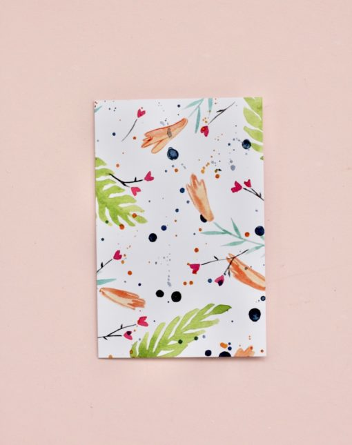 Floral-confetti-gift-card