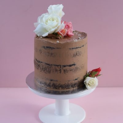 Vegan-semi-naked-cake