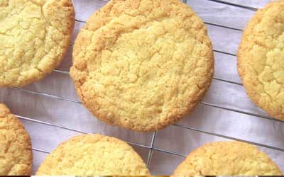 LEMON COCONUT COOKIES