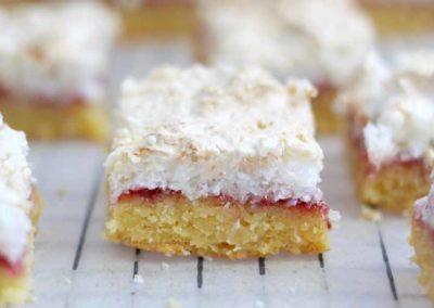 LOUISE CAKE SLICE – A MUST TRY NZ TREAT!