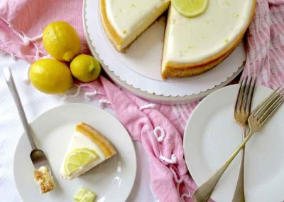 EASY LEMON CHEESECAKE RECIPE