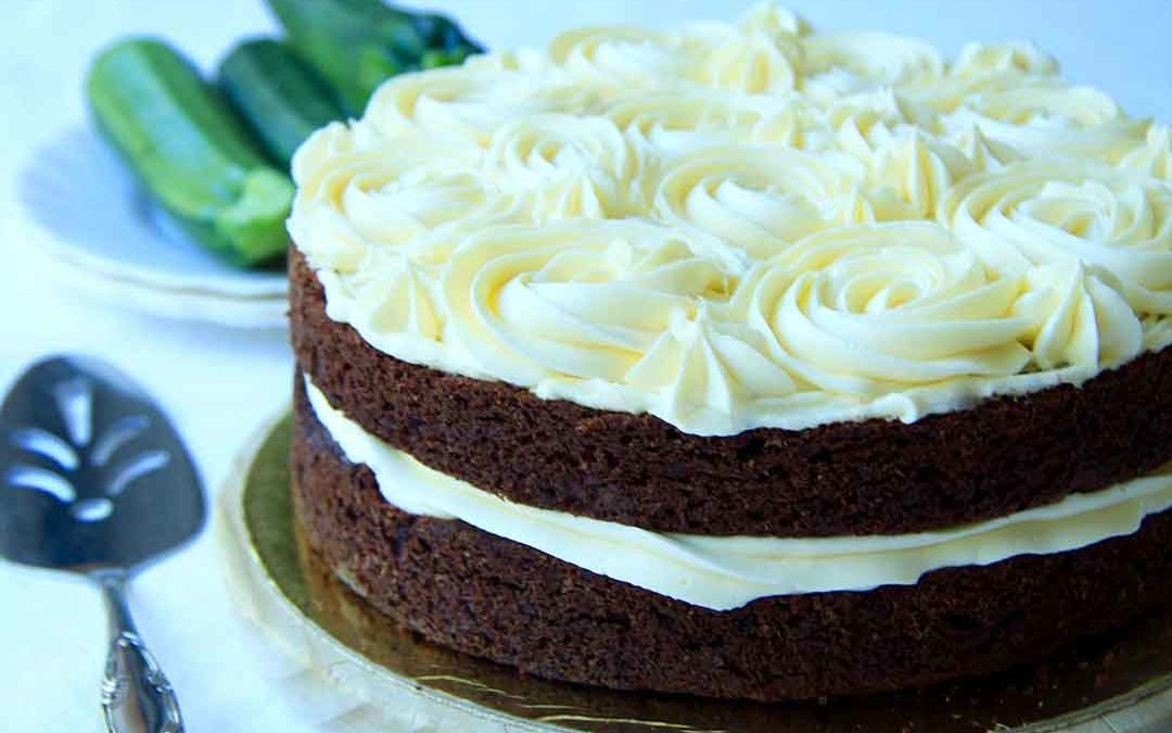 DELICIOUS CHOCOLATE ZUCCHINI CAKE