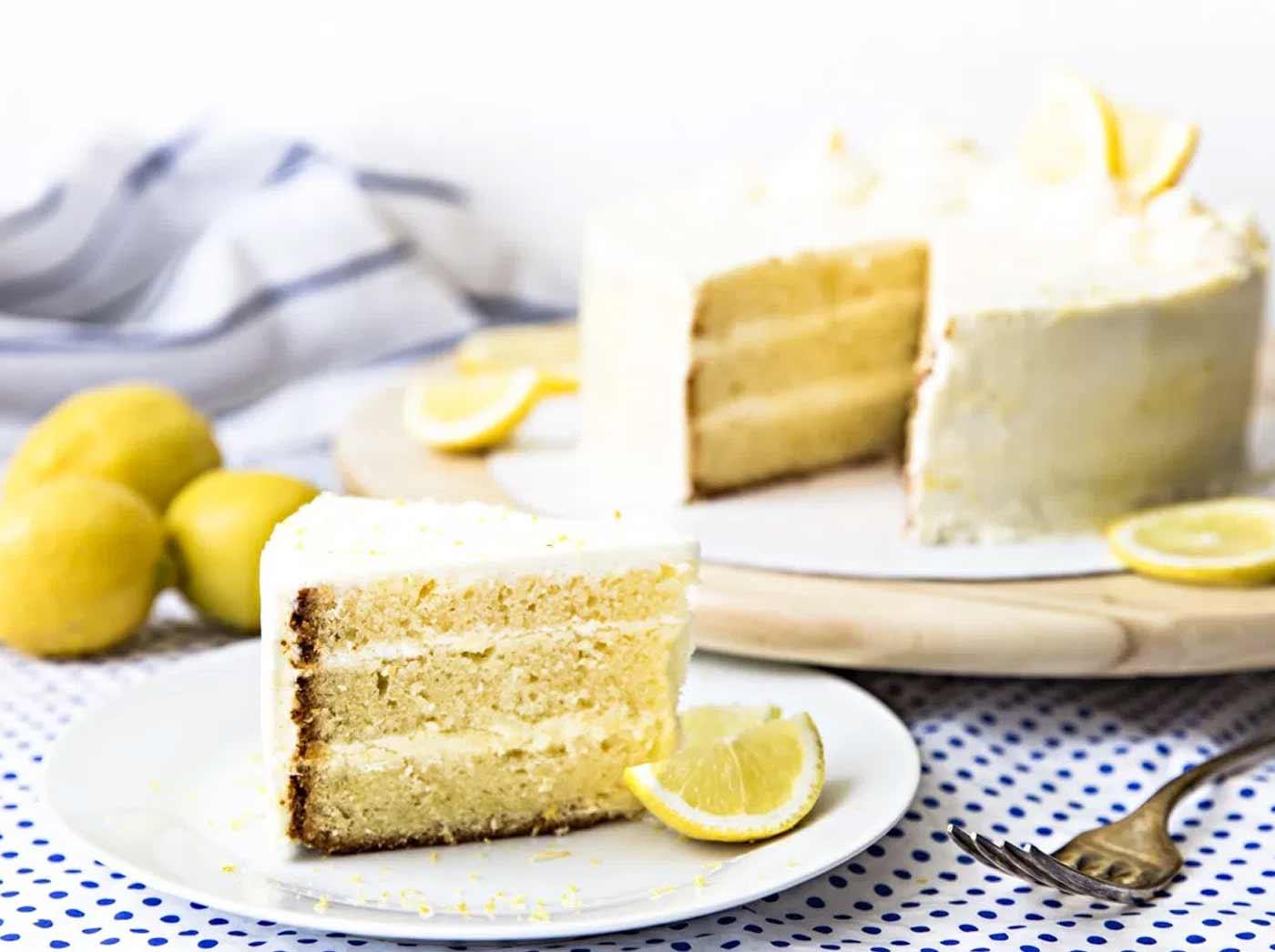 All Recipes Italian Lemon Cream Cake: LEMON LAYER CAKE WITH MASCARPONE CREAM FROSTING