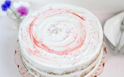 FLUFFY GLUTEN DAIRY FREE VANILLA CAKE
