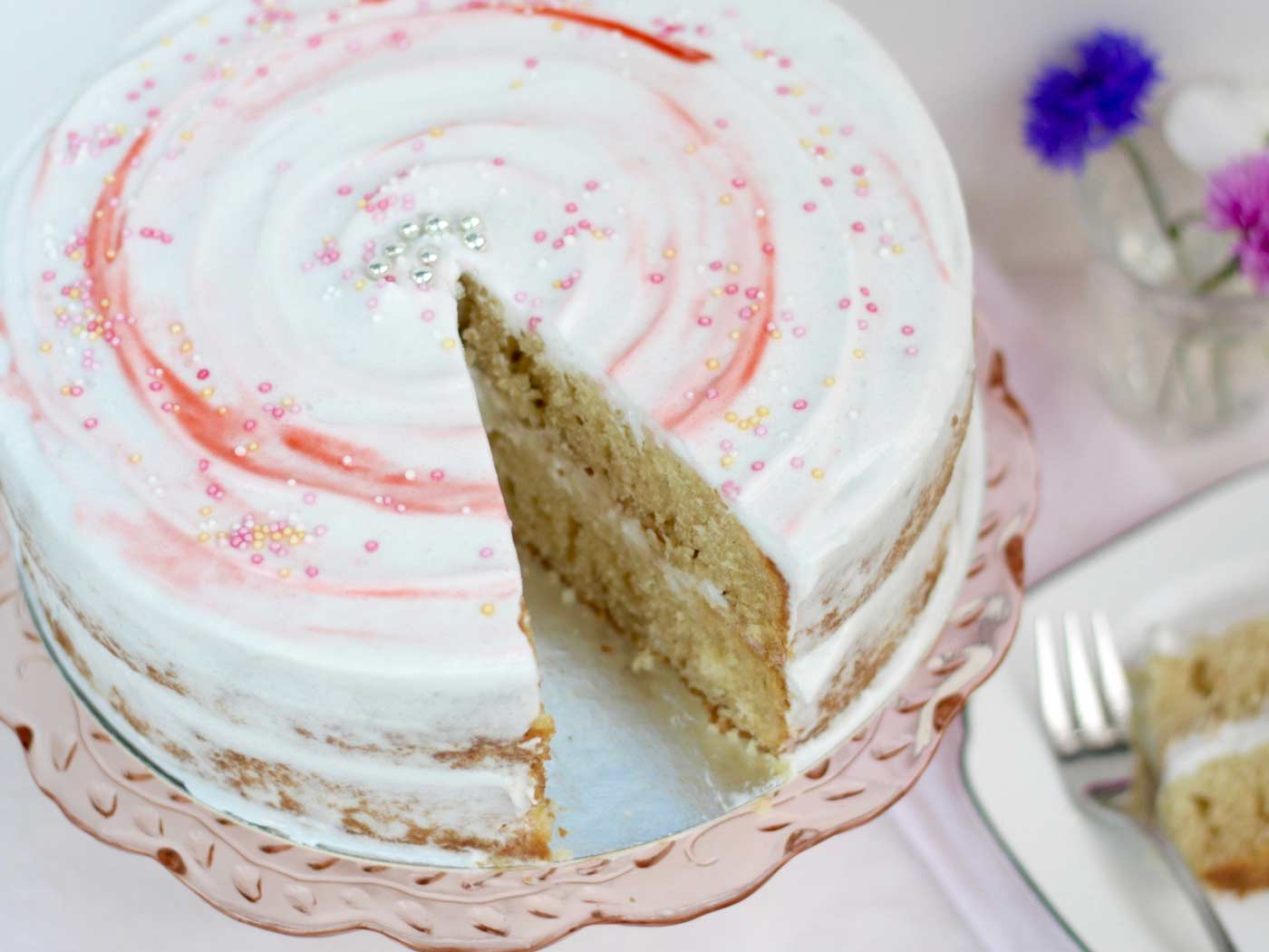 Gluten Free Dairy Free Egg Free Sponge Cake