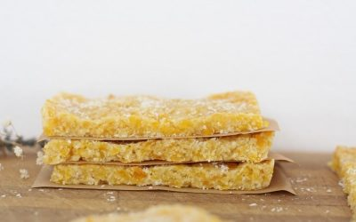 Healthy Apricot Almond Slice